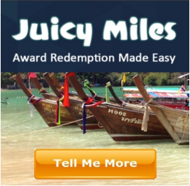 Juicy Miles Award Booking Service